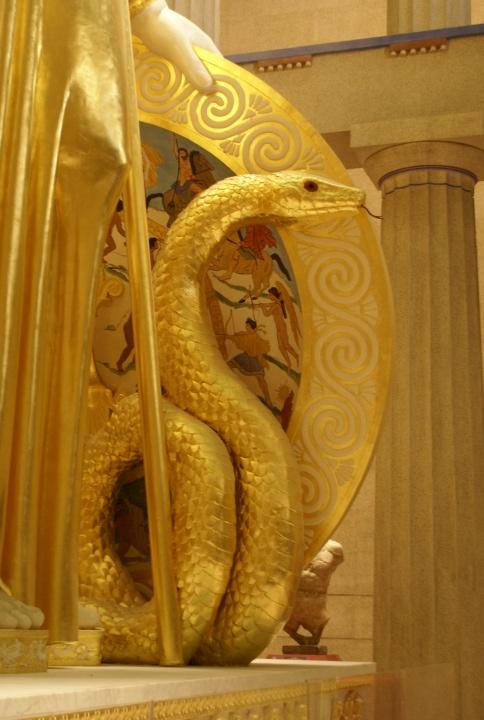 Athena Snake Symbol Athenas Snake Athena Snake